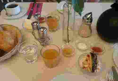 3 Sterne Bio Hotel Dünenhotel Strandeck auf der ostfriesischen Insel Langeoog Frühstück
