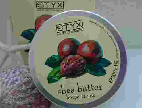 100% naturreine Körpercreme Shea Butter von Styx Naturkosmetik Dose Shea Butter von Styx