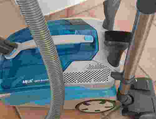 Anti Allergy Staubsauger mit Wasserfilter von Thomas Nasssauger Aquafilter beutellos Touch Tronic Softtouch