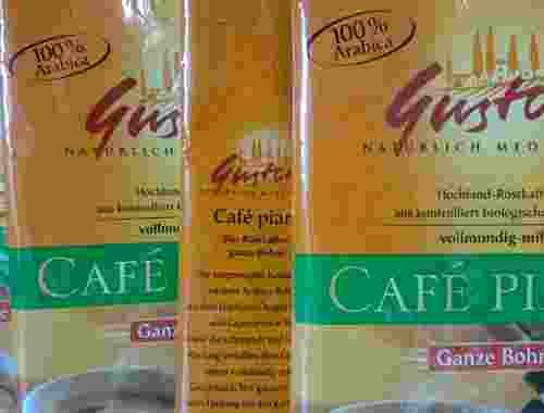 Kaffebohnen für Kaffeevollautomaten 100% arabica von Gustosi und dennree (8)