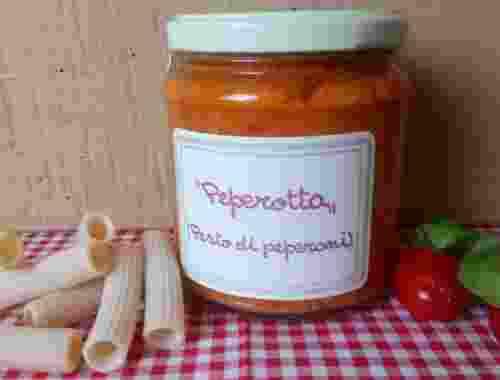 Peperotta, Pesto di peperoni der Fattoria La Vialla