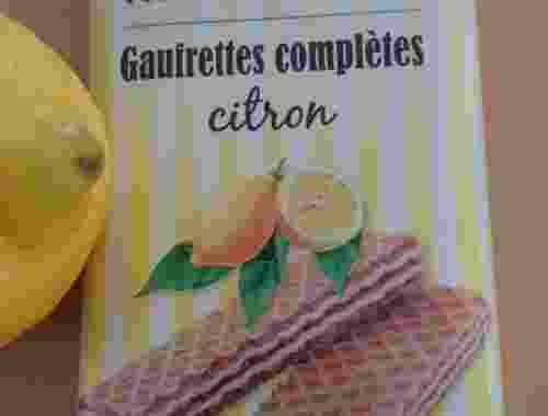 Vollkorn Waffel Zitrone von Rapunzel 100g