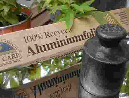 Aluminiumfolie 100% recycelt von If You Care (1)