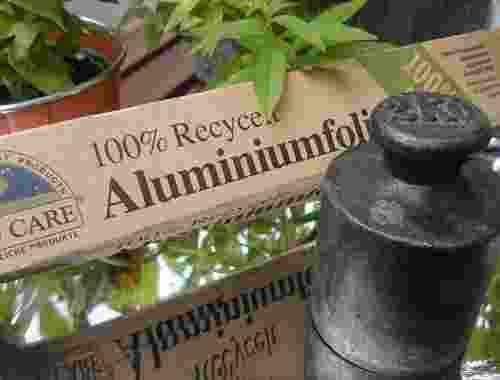 Aluminiumfolie 100% recycelt von If You Care (1)
