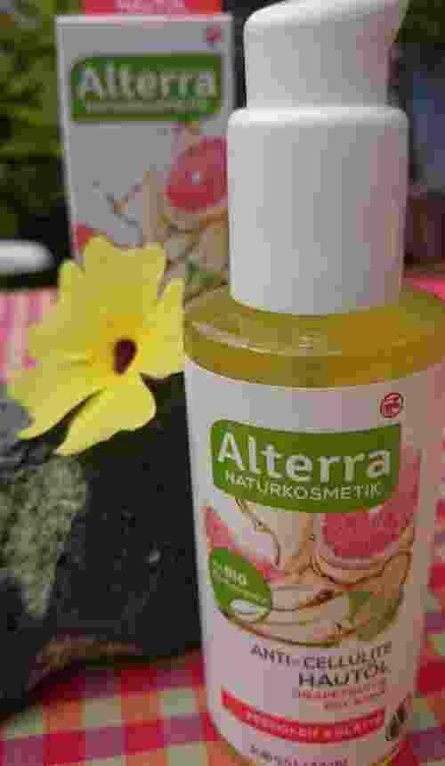 Anti Cellulite Hautöl, Grapefruit & Bio Birke von Alterra Naturkosmetik Rossmann (2)