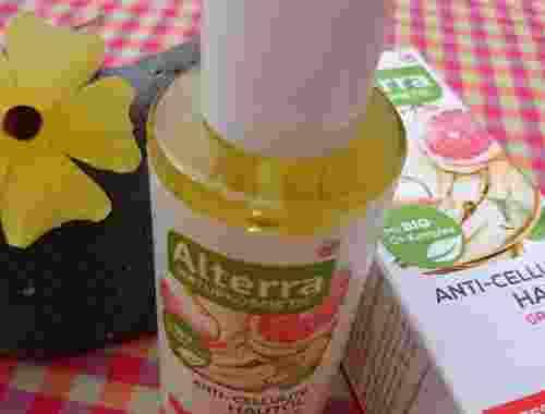 Anti Cellulite Hautöl, Grapefruit & Bio Birke von Alterra Naturkosmetik Rossmann (3)