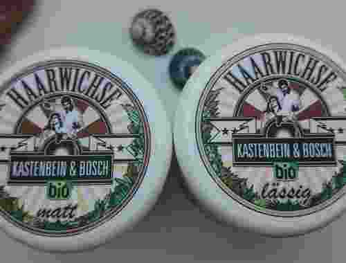 Bio Haarwichse lässig von Kastenbein & Bosch
