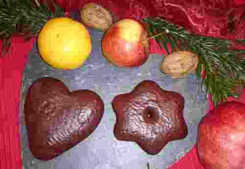 Bio Herzen und Sterne mit Orange gefüllte Schoko Lebkuchen von dennree (1)