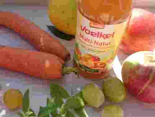Bio Mehrfruchtsaft Multi Natur 100% Direktsaft von Voelkel