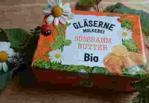 Bio Süssrahm Butter 250g von Gläserne Molkerei (2)