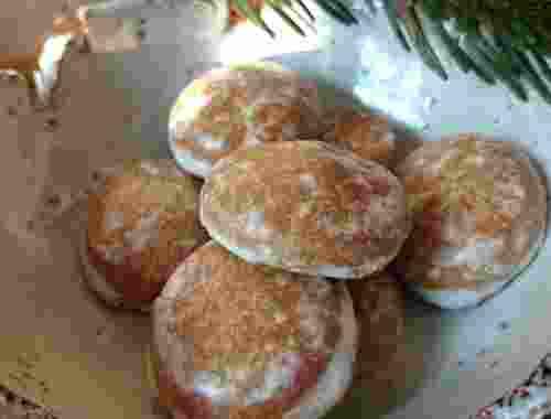 Braune Pfeffernüsse Bio Lebkuchen glasiert von dennree (2)