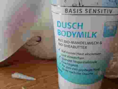 Dusch Bodymilk Bio Mandelmilch Bio Sheabutter von Lavera Naturkosmetik (3)