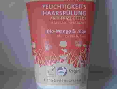 Feuchtigkeits Haarspülung Anti Frizz Effekt Balsamo Idratante von Sante