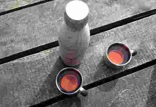 FLSK die Trinkflasche Edeltstahl 100% wasserdicht BPA frei