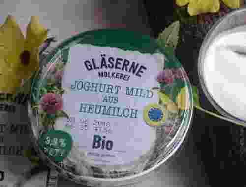 Joghurt mild aus Heumilch mit 3.8% Fett von Gläserne Molkerei (2)