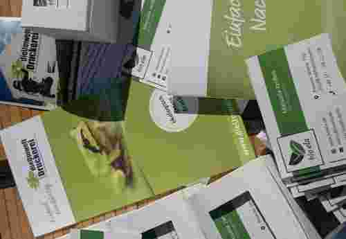 Klimaneutrale Visitenkarten aus 100% Recyclingpapier und vieles mehr von dieUmweltDruckerei (2)