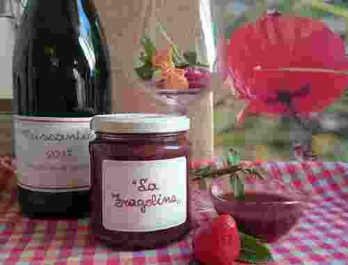 La Fragolina süße Erdbeersoße von Fattoria La Vialla (3)