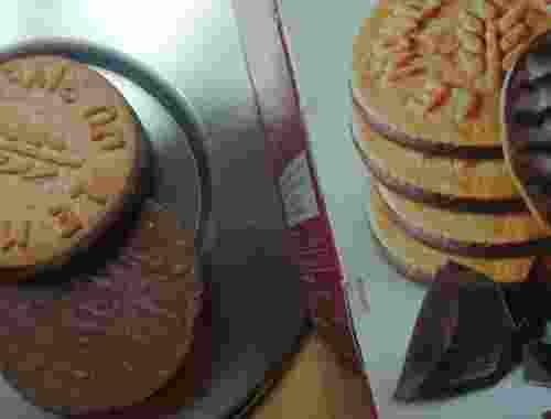 Mürbegebäck Kastanie mit Zartbitterschokolade von Le Moulin Du Pivert (4)