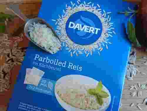 Parboiled Reis im Kochbeutel 2x2 Portionen von Davert (1)