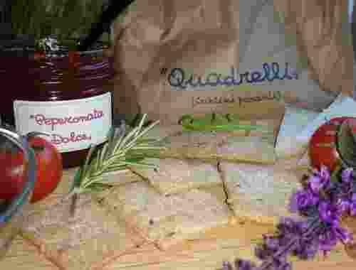 Quadrelli oder Picante Crostini von Fattoria La Vialla (2)