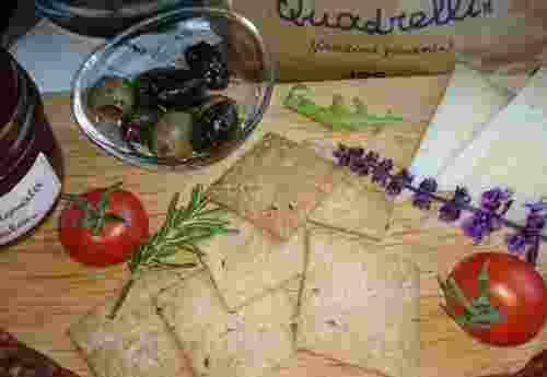 Quadrelli oder Picante Crostini von Fattoria La Vialla (4)