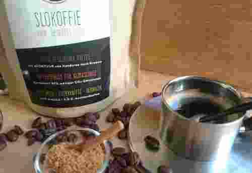 Slokoffie fair. gesegelt. bio. Kaffee garantiert 90% weniger CO² Emissionen (1)