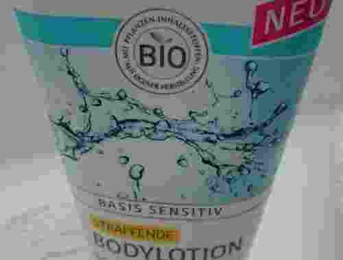 Straffende Bodylotion basis sensitiv von lavera Naturkosmetik