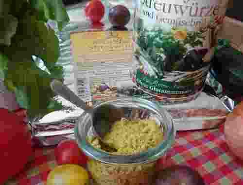 Streuwürze und Gemüsebrühe Würzfee von Lebe Gesund Streuwürze dekorativ in Glasbehältnis