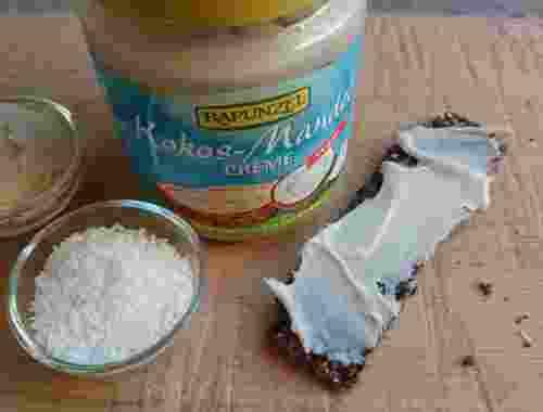 Vegane Kokos Mandel Creme von Rapunzel