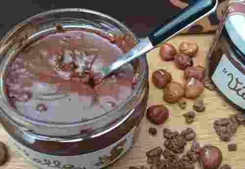 Viallella Haselnuss Kakao Creme Fattoria La Vialla (5)