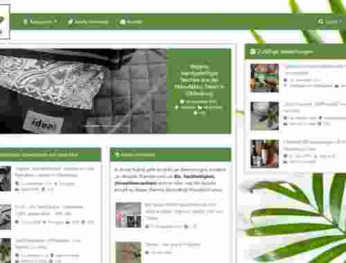 bioela Screenshot Startseite Version 2