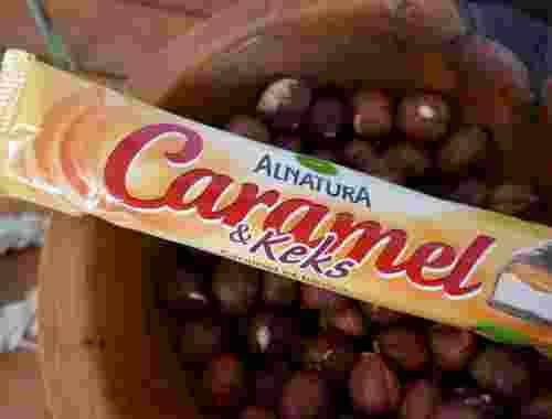Caramel & Keks - Bio-Keksriegel mit Karamell von Alnatura--Keksriegel in Bioqualität von Alnatura (2)