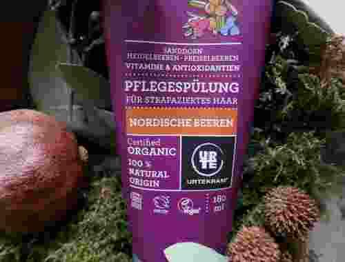 Pflegespülung für strapaziertes Haar, Nordische Beeren von Urtekram, 100 % Natural Origin, organic