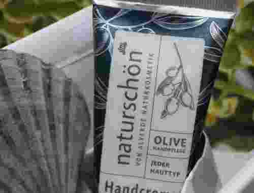 Handcreme naturschön mit Olive für jeden Hauttyp von Alverde, 75 ml -- Handcreme naturschön