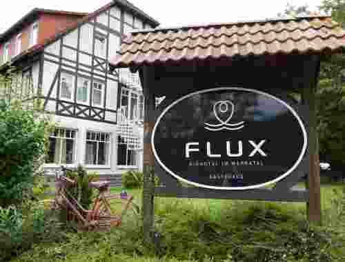 FLUX Biohotel im Werratal, Hann. Münden -- Gästehaus von außen
