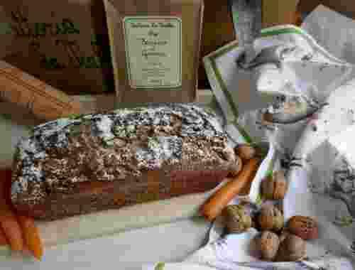 Rüblicake -- Fertiger Cake